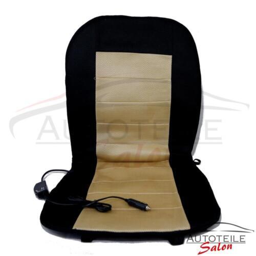 Sitzheizung 12V 55 Watt mit Regler /& Seitenairbag geeignet Heizmatte Sitzauflage