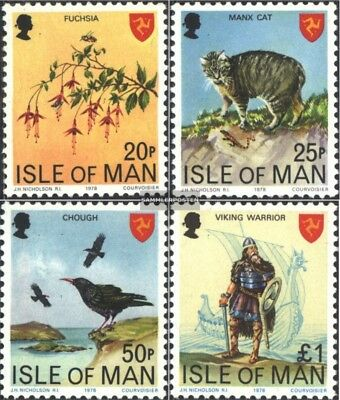 United Kingdom-island Man 133-136 (complete Issue) Unmounted Mint / Never Hinged