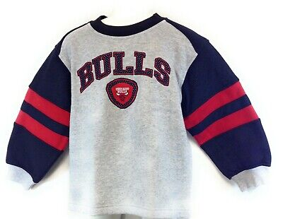 newest 00b6c 9c758 Infant Toddler Chicago Bulls Grey Black Red NBA Basketball ...