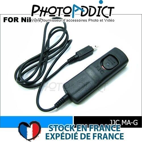 Déstockage Télécommande filaire type Nikon MC-DC1 60/% JJC MA-G