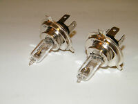 Scooter Headlight Bulbs (2 Bulbs For The Price One) 18 Watt Chinese Scooter