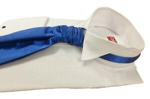 White-Downton-Abbey-Edwardian-Wing-Collar-Dress-Shirt-Wedding-Prom14-5-23-NWT