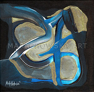 20x20-cm-ORIGINAL-PAINTING-034-SYMBOL-034-ACRYL-ON-CANVAS-BY-MARIA-MARACHOWSKA-2012