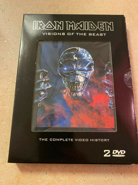 IRON MAIDEN - VISIONS OF THE BEAST (COMPLETE VIDEO HISTORY) 2 DVD TOP ZUSTAND!!