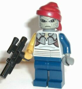 Lego Shahan Alama 8128 Bounty Hunter Clone Star Wars Minifigure