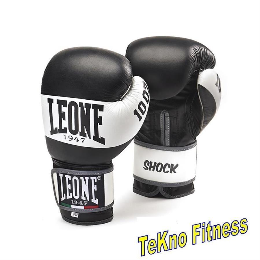 GUANTONI  LEONE SPORT  GN047 SHOK 10121416OZ 100% PELLE scatolaE THAY KICK