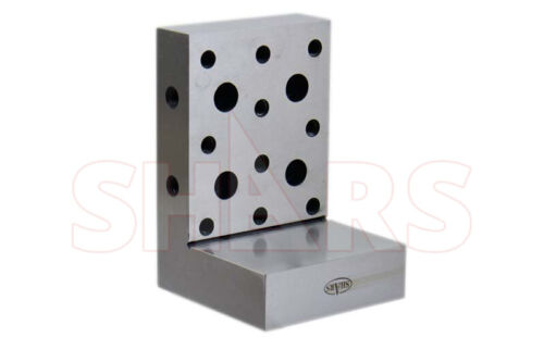 "Shars Angle Plate 6x4x4x1-1//4/""  Precision Steel Ground 0.00"