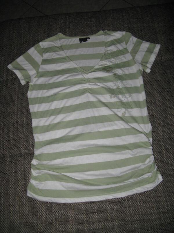*new View* T-shirt Gr. 40-42 Weiß, Grün Sehr Gut Jahre Lang StöRungsfreien Service GewäHrleisten