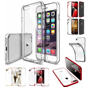 For-Apple-iPhone-7-8-Plus-X-XS-MAX-XR-Case-Shockproof-Silicone-TPU-Bumper-Cover
