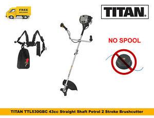 TITAN Brushcutter 25cc 2 Stroke Petrol Power Head Brushcutter Attachment