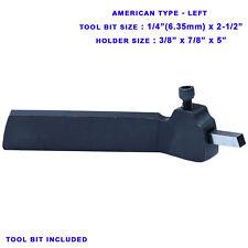 14 Hss Tool Bit Holder American Type Lathe Turning Left 78 X 38 Inch