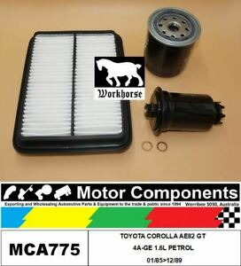 FILTER-SERVICE-KIT-FOR-TOYOTA-COROLLA-AE82-GT-4A-GE-1-6L-PETROL-01-85-gt-12-89
