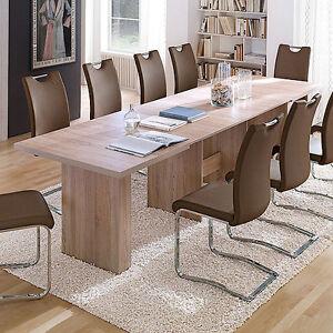 esstisch esszimmer tisch tobias ausziehbar in sonoma eiche. Black Bedroom Furniture Sets. Home Design Ideas