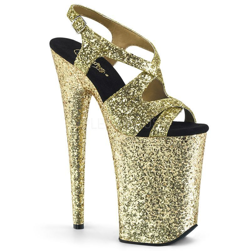 PLEASER Plateforme Gold  s Infinity - 930lg Gold Plateforme PLEASER Plateforme  s... 336893