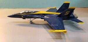 """ARMOUR (98013) US NAVY """"BLUE ANGELS"""" F/A-18 """"HORNET"""" 1:48 SCALE DIECAST MODEL"""
