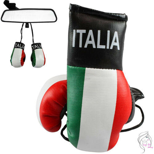 ALL COUNTRIES MINI BOXING GLOVES FOR CAR MIRROR