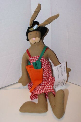 NEW Overly Raker Bunny THE KATYDID Collection CARROT FARMER BY MAUDE  EASTER