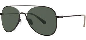 Original-Penguin-The-Craig-Polarized-Sun-Men-039-s-Black-Aviator-Sunglasses