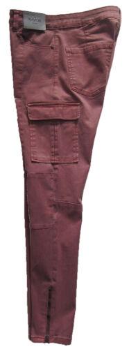 NUOVA linea donna rosa Next Jeans Attillati Taglia 16 14 12 10 Regolare Lungo