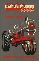Ford Tractor Owner's Manual-series 6000