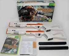 NEW 2-GUN BUNDLE XBox 360 Cabela's Dangerous Hunts 2013 Hunting Game top shot