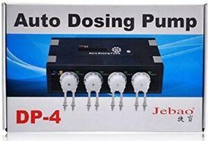 Jebao-DP-4-POMPA-DOSATRICE-AUTOMATICO-ACQUARIO-REEF-MARINO-piu-vicina-4-Channel-UK-Venditore