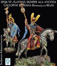 Altri modelli montati Roman Signifer modello 54mm non dipinti KIT Laruccia