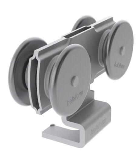 Porte coulissante Cintres Heavy Duty Industrial metal portes MPS 300//500//Acier Paire