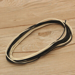 vintage cloth covered waxed 22 awg 22ga electric guitar hook up wire 20 feet ebay. Black Bedroom Furniture Sets. Home Design Ideas