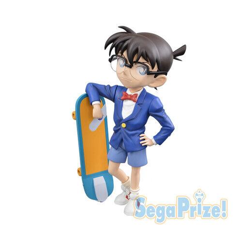 Case Closed Detective Conan 5/'/' Conan with Skateboard Sega Prize Figure NEW
