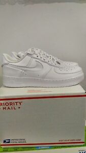 a6811262d45 John Elliott x Nike Air Force 1 LO AF1 Triple White AO9291-100 size ...