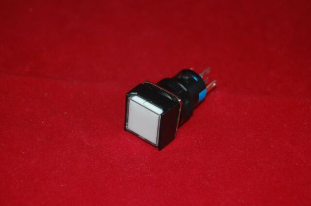 2PCS 16mm Round Selector switch 2 Position MAINTAINED
