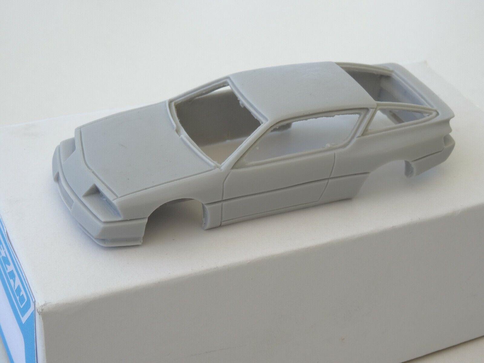 ALEZAN MODELS . KIT 1 43 . ALPINE V6 GT  . 1er SERIE CAPOT PLAT . 1985 .  Style classique