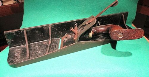 Antique Stanley No. 51 Chute Shoot Board Plane Patd. 12196