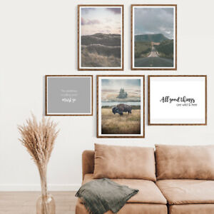 Gallery-Wall-Home-Prints-A4-Wilderness-Wild-Country-1-5-PICTURES-NO-FRAME