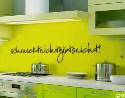 Wandtattoo Küche Schmeckt nicht Esszimmer Kochen Wandsticker Trinken uss349
