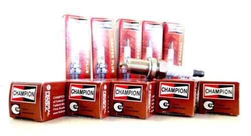 6x champion oe026//t10 rc8dmc oe026 r04 Copper plus bougie d/'allumage