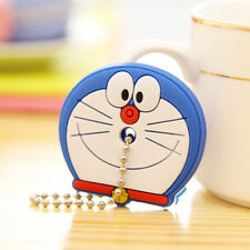 Doraemon Trendy Cute Soft Key Top Head Cover Chain Cap Keyring Phone Strap NEW