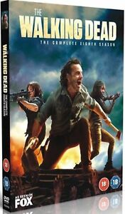 The Walking Dead Season 8 DVD Brand New Sealed & Fast Postage (6 disc) 2018