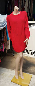 Top Jumper Chunky Red Uk Dress Topshop Stunning Absolutely maglia 8 Knit a lavorata Tunica 5vIBqwx