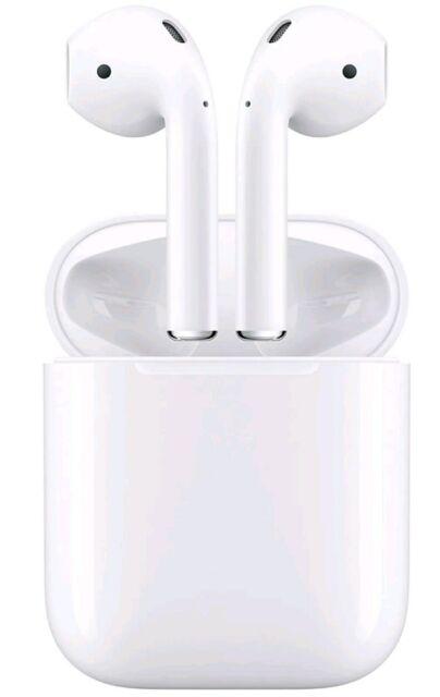 Apple AirPods Écouteurs Intra-auriculaires sans Fil (MMEF2J/A)
