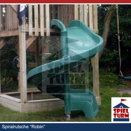 HOQ Spiralrutsche ROBIN Grün Rutschbahn Wendelrutsche Spielturm Spielturm Spielturm Slide NEU 7f3b12