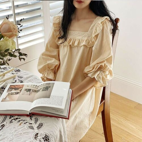 Vintage Nightgowns Cotton Night Dress Victorian st