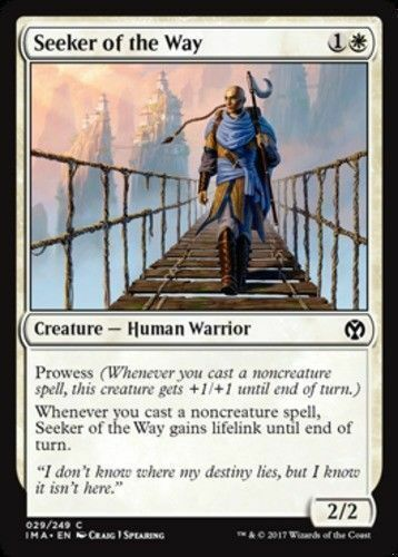 4 Seeker of the Way C M-NM Iconic Masters- SPARROW MAGIC mtg 4x x4