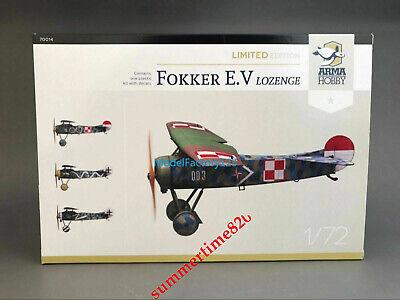 Arma Hobby 70014 1//72 Fokker E.V Lozenge Limited Edition set