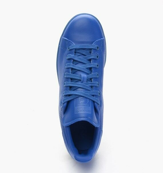 f44f215eb463a ... Adidas Originals homme Style Stan Smith Adicolour Trainers Style homme  Bleu S80246 cee980 ...