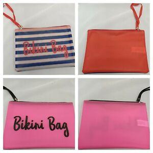 5353980782 Details about Women's Bikini Bag Wet Swimwear Storage Holiday Summer Beach  Bag Primark