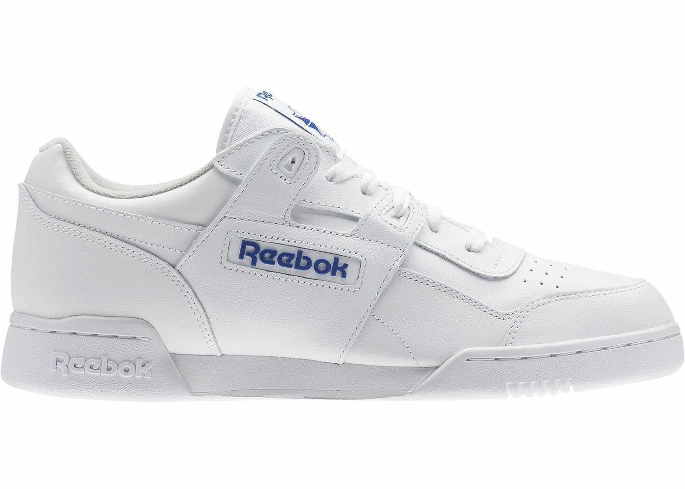 Para Hombre blancoo Royal 2759 Reebok Workout Plus
