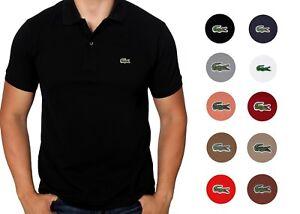 Lacoste Homme Polo Shirt à manches courtes S/S coton PIQUE CLASSIC FIT L 12.12