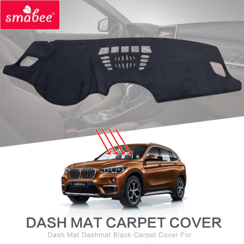 Dash Mat Dashmat FOR:BMW X1 2016-2018 There are HUD Black Carpet Car Dashboard